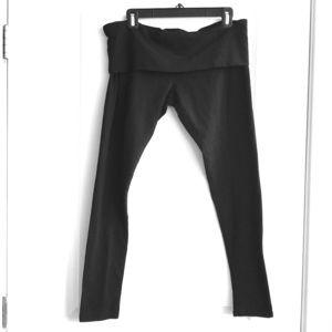 Mossimo Leggings Cotton Spandex Large Black
